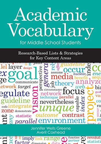 9781598573053: Academic Vocabulary for Middle School Students: Research-Based Lists and Strategies for Key Content Areas