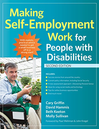 9781598574036: Making Self-Employment Work for People with Disabilities