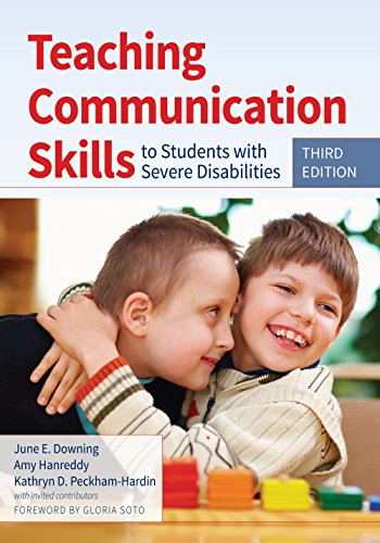 9781598576559: Teaching Communication Skills to Students with Severe Disabilities