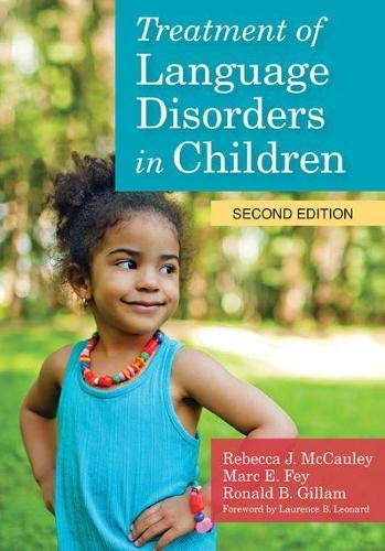 9781598579796: Treatment of Language Disorders in Children (CLI)