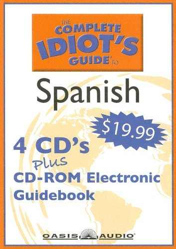 9781598590548: The Complete Idiot's Guide to Spanish: Program 1 (Complete Idiot's Guides)