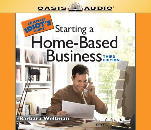 9781598592641: The Complete Idiot's Guide to Starting a Home-Based Business (Complete Idiot's Guides)