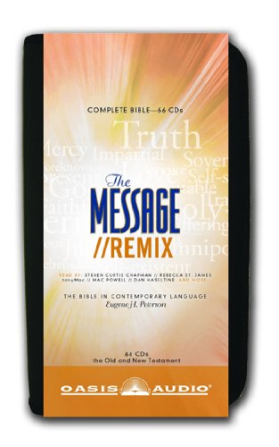 The Message Remix Bible: Complete Bible: Eugene H Peterson