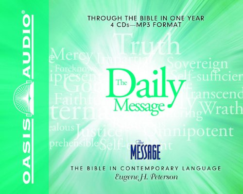 The Daily Message: Complete Message Bible (The Message)