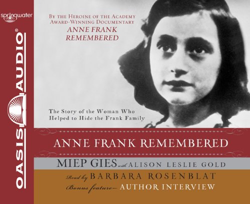 9781598595239: Anne Frank Remembered