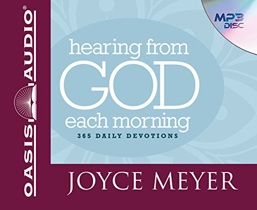 Hearing From God Each Morning: 365 Daily Devotions: Meyer, Joyce