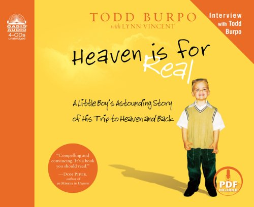 9781598599190: Heaven is for Real: A Little Boy's Astounding Story of His Trip to Heaven and Back
