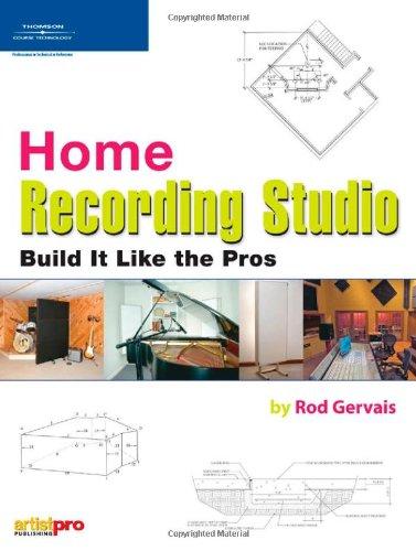9781598630343: Home Recording Studio Build it Like the Pros