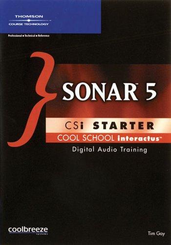 9781598630732: SONAR 5 CSi Starter