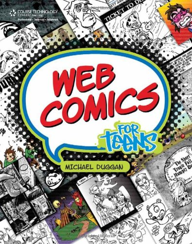 9781598634679: Web Comics for Teens