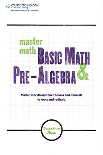 9781598639827: Master Math: Basic Math and Pre-algebra