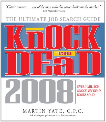 9781598691658: Knock 'em Dead, 2008: The Ultimate Job Search Guide