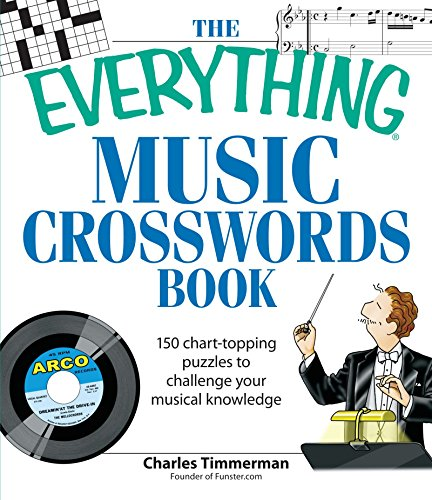 9781598693362: The Everything Music Crosswords Book: 150 Chart-topping puzzles to challenge your musical knowledge