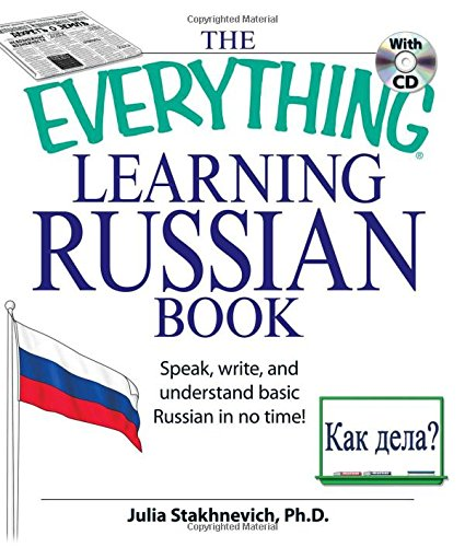 9781598693874: The Everything Learning Russian Book with CD: Speak, write, and understand Russian in no time!