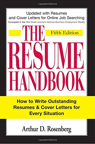 9781598694598: The Resume Handbook: How to Write Outstanding Resumes and Cover Letters for Every Situation