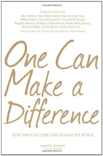 9781598696295: One Can Make a Difference: How Simple Actions Can Change the World