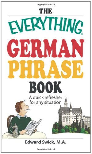 9781598697551: The Everything German Phrase Book: A quick refresher for any situation