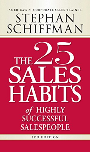 9781598697575: The 25 Sales Habits of Highly Successful Salespeople