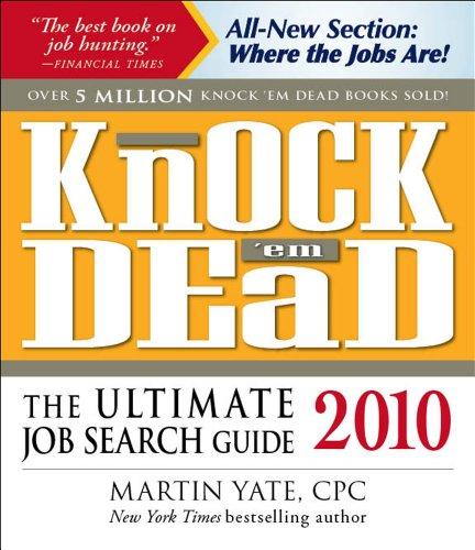 Knock'em Dead 2010: The Ultimate Job Search: Yate CPC, Martin