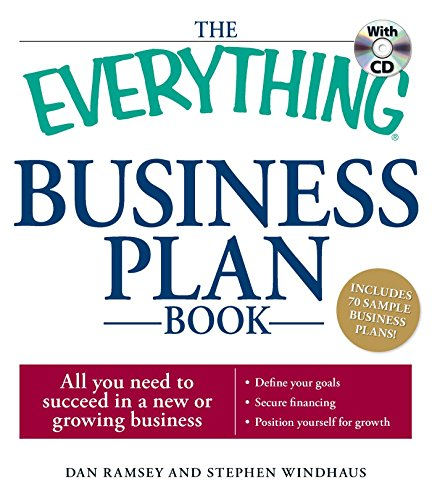9781598698220: The Everything Business Plan Book with CD: All you need to succeed in a new or growing business