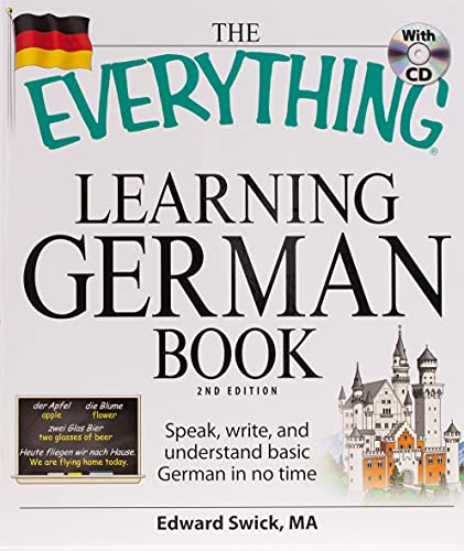 9781598699890: The Everything Learning German Book