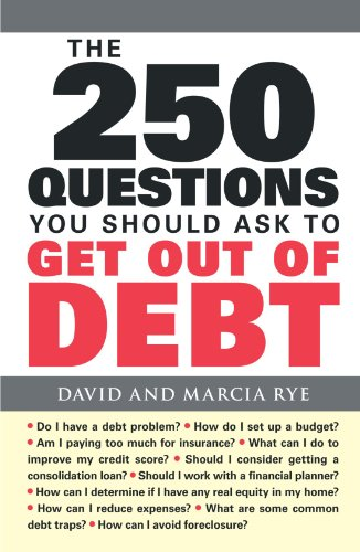 9781598699944: The 250 Questions You Should Ask to Get Out of Debt
