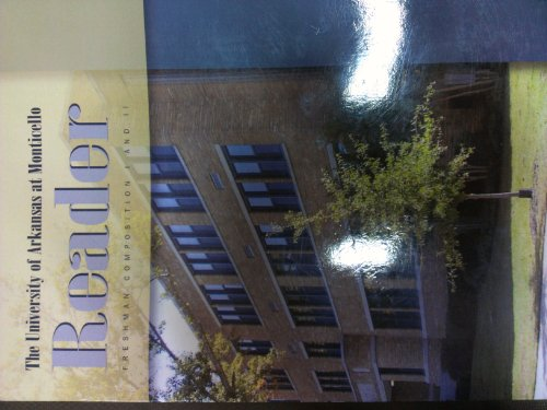 9781598710953: The University of Arkansas At Monticello Reader UAM