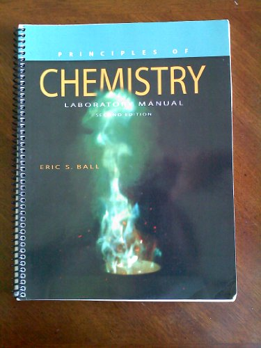 9781598711431: Principles of Chemistry Laboratory Manual Second Edition