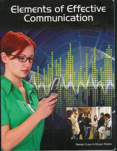 9781598711639: Elements of Effective Communication