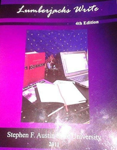 9781598712995: Lumberjacks Write: English Composition Manual (Stephen F. Austin University)