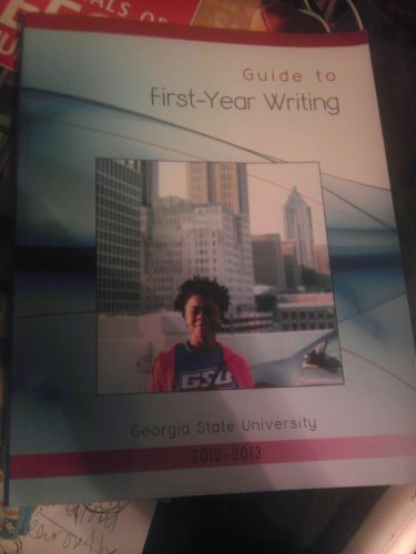 9781598715453: Guide to First Year Writing (Georgia State University)