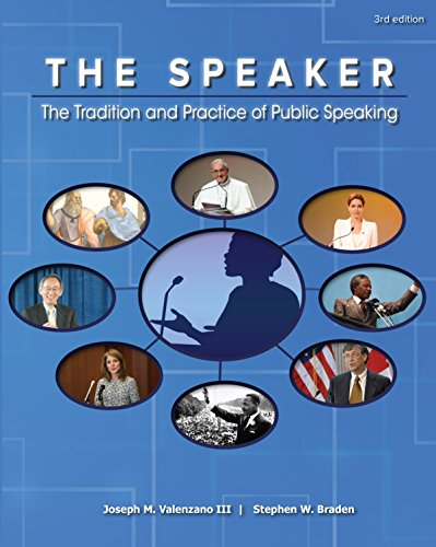 9781598718171: The Speaker: The Tradition and Practice of Public Speaking