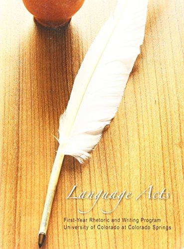 9781598718546: Language Acts (First-Year Rhetoric and Writing Program)