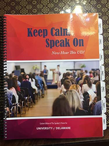 Keep Calm Speak On, Now Hear This: Joseph M. Valenzano