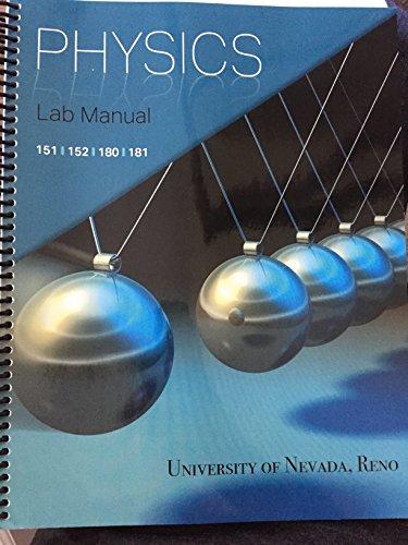 9781598719536: Physics Lab Manual- 151, 152, 180, 181