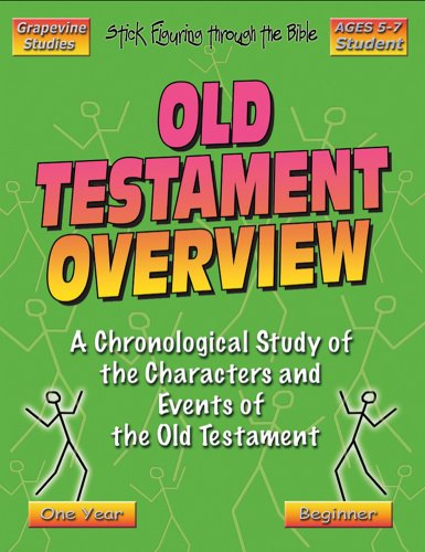 9781598730029: Beginner Old Testament Overview Student (Stick Figure)
