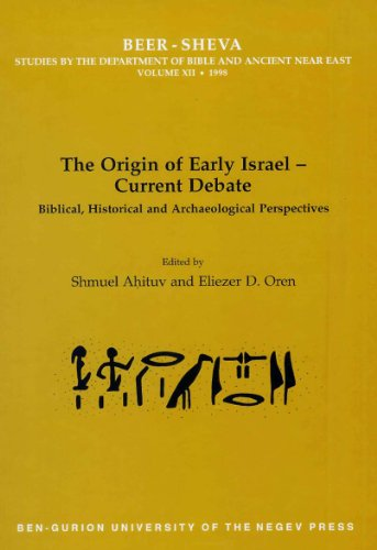 9781598743913: The Origin of Early Israel-Current Debate: Biblical, Historical and Archaeological Perspectives (UCL Institute of Archaeology Publications)