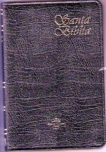 9781598770384: Thin line Black Genuine Bible (Spanish Edition)