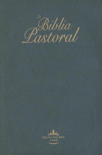 9781598772159: RVR60 PASTORAL BIBLE IMITATION LEATHER BLUE RVR065C (Spanish Edition)
