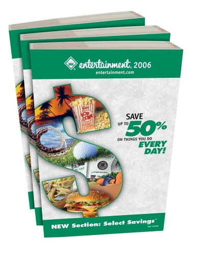 Entertainment® Book 2006 - Save up to 50% on Things you do Every Day! - Puget Sound ...