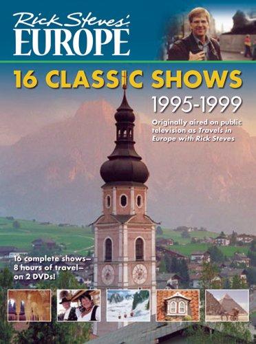 9781598800388: Rick Steves' Europe DVD: 16 Classic Shows 1995-1999 [VHS]