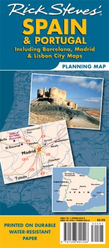 Rick Steves' Spain & Portugal Planning Map