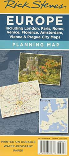 Rick Steves' Europe Map: Steves, Rick