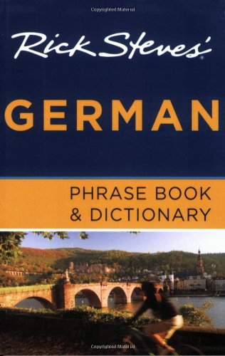 9781598801934: Rick Steves' German Phrase Book and Dictionary