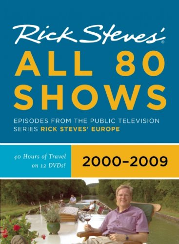 Rick Steves Europe All 80 Shows DVD Boxed Set 2000-2009