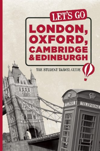 9781598803037: Let's Go London, Oxford, Cambridge & Edinburgh: The Student Travel Guide