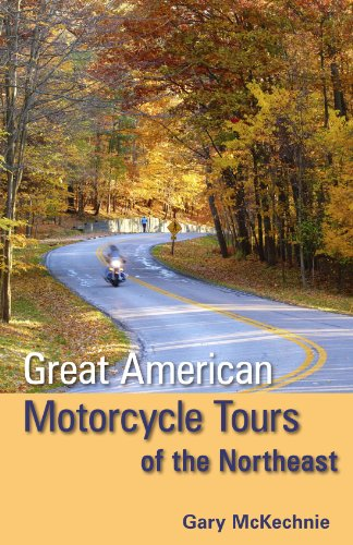 9781598805840: Great American Motorcycle Tours of the Northeast
