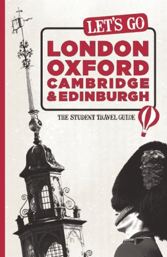 9781598807110: Let's Go London, Oxford, Cambridge & Edinburgh: The Student Travel Guide