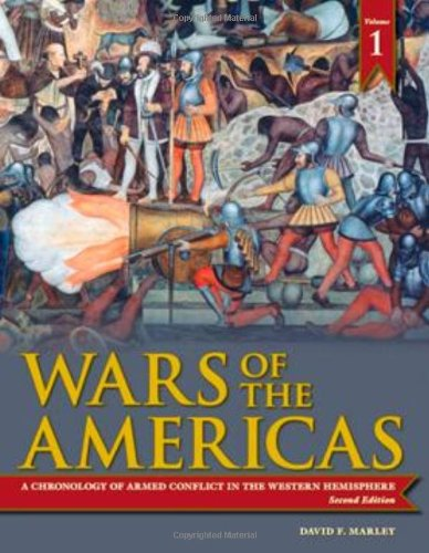9781598841008: Wars of the Americas [2 volumes]: A Chronology of Armed Conflict in the Western Hemisphere, 2nd Edition