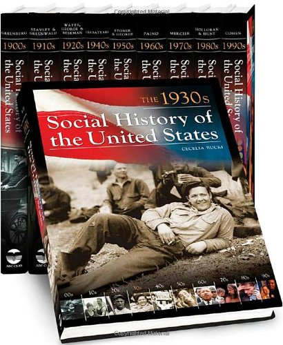 9781598841275: Social History of the United States (10 Vol. Set )